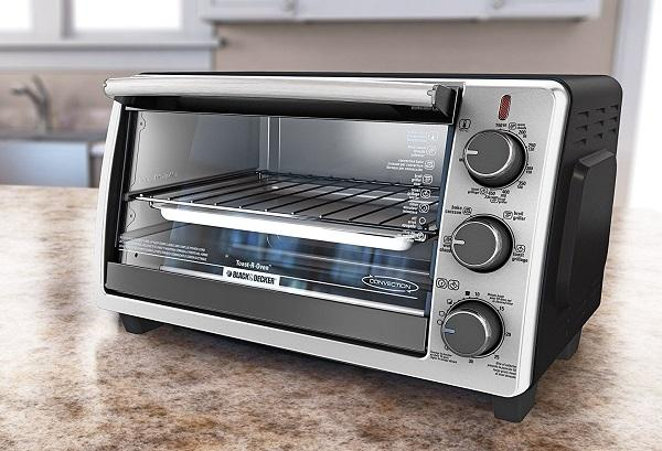 BLACKDECKER TO1950SBD 6 Slice Convection Countertop Toaster Oven