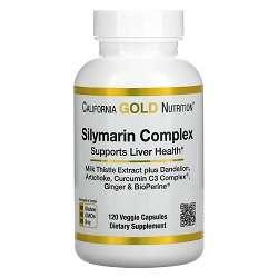 California Gold Nutrition Silymarin Complex for Liver Health